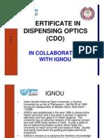 IGNOU CDO Prospectus with Form