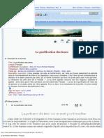La purification des âmes - Français