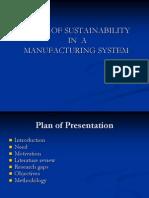 Sustainable Manuf