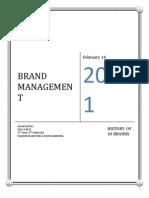 Brand Management 10 BRANDS