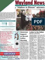 The Wayland News October 2011
