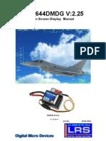 Osd644 manual V2.25