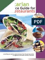 Vegetarian Resource Guide for Restaurants