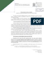 Nota Privind Evaluarea Initiala 2011