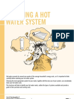 Choosing a Hot Water System