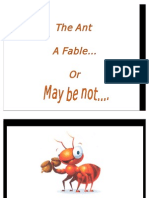 The Ant Story.