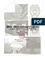 The Revolutionary's Voice - 20th Edition (Formerly the Ten Magazine) - September 24th, 2011