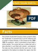 Carlil vs Carbolic Smokeball