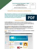 Instructivo Manejo Oficina Virtual