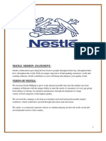 Nestle Mission Statement