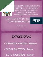 Expo Sic Ion Contenido Gastrico Mmmg Presentacion Nn