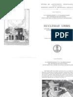 Congresso Ecclesiae Urbis - Conservazione e valorizzazione del Mausoleo di S. Elena