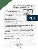 Cogne - Relazione Carabinieri (17 Settembre 2002)