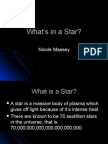 What's in a Star