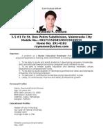Resume Mr Dimson[1]
