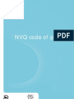 QCA NVQ Code of Practice 2006