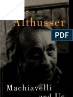 Althusser - Machiavelli and Us