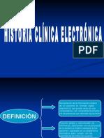 Historia Clínica Electrónica