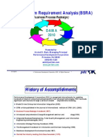 Business System Requirement Analysis (BSRA)