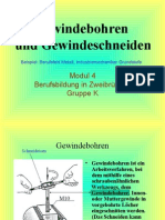 Cutting Threads Technology (Gewinde)