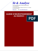 Guide Dinvestissement