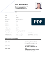 2011 Resume With Pic