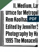 Koolhaas, Rem, The Generic City