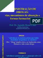 farmacocinética e farmacodinâmica