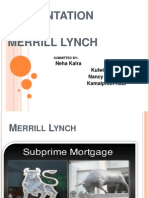 Acquisition of Merrill Lynch by Bank of America