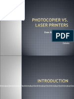 197 Tech Report - Laser Printers Vs