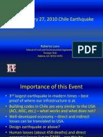 Leon Chile Earthquake
