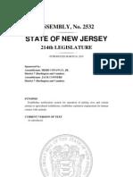 45386695 a 2532 Introduced Version New Jersey Legislature via MyGov365 Com