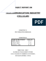Cellular Industry