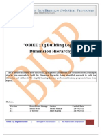 OBIEE11g Building Logical Dimension Hierarchy