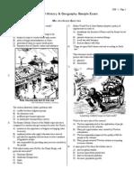 Global History Sample Exam