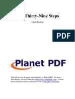 The Thirty-Nine Steps T