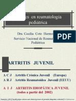 reumatologia pediatrica
