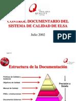 Control Document a Rio
