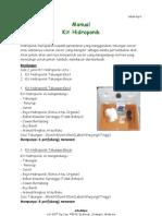 Manual Kit Hidroponik