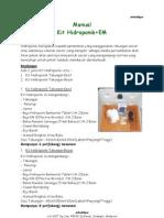 Manual Kit Hidroponik EM v05092007