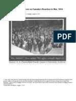 1914 & Modern Sources