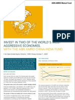 ABN AMRO China India Fund Flyer
