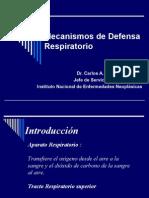 Mecanismos de Defensa Respiratorio