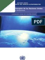 Espacio Ultraterrestre Convenios y Principios