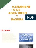8.-Clase de Agua, Hielo, Basura,Productos Quimicos