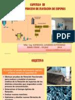 Capitulo III. CINÉTICA DEL PROCESO DE FLOTACION DE MINERALES