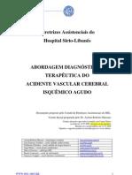 Texto - Abordagem Diagnóstica e Terapêutica do AVC Isquêmico Agudo - HSL
