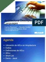 Carlos-Reynoso---Lenguajes-de-descripción-de-arquitectura-de-software