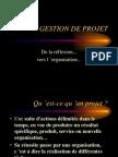 CRgestion de projet