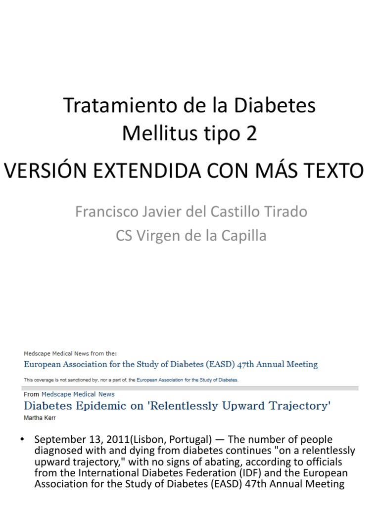diabetes mellitus tipo 2 medscape enfermería